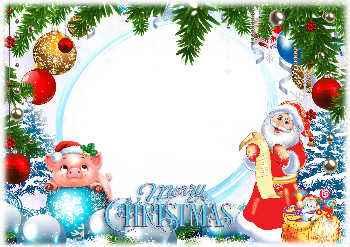 Cornici Natalizie Per Foto.Cartoline Gratuite E Le Cornici In Occasione Di Natale Con